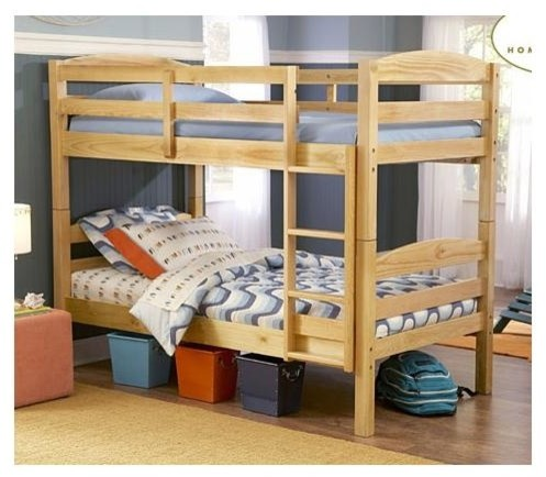 wooden bunk bed weight limit 1