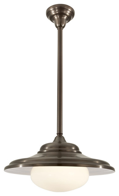 Norwell Lighting Jeremy Architectural Bronze Pendant Farmhouse Pendant Li