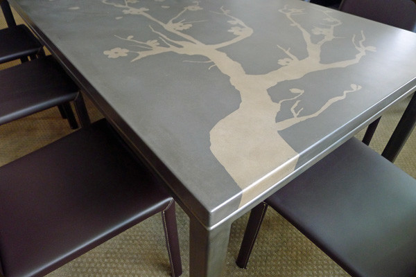 Concrete Furniture Modern Dining Table Sets Denver By Concretepete Llc