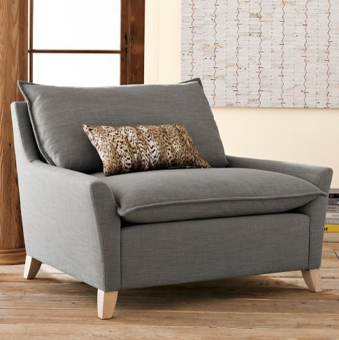 Bliss Chair And A Half Modern Armchairs And Accent Chairs By West Elm