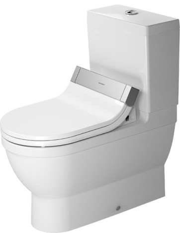 duravit 214159 starck 3 toilet close coupled for sensowash. Black Bedroom Furniture Sets. Home Design Ideas