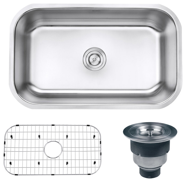 16 Gauge Undermount Kitchen Sink : ... RVM4250 Undermount 16 Gauge 30