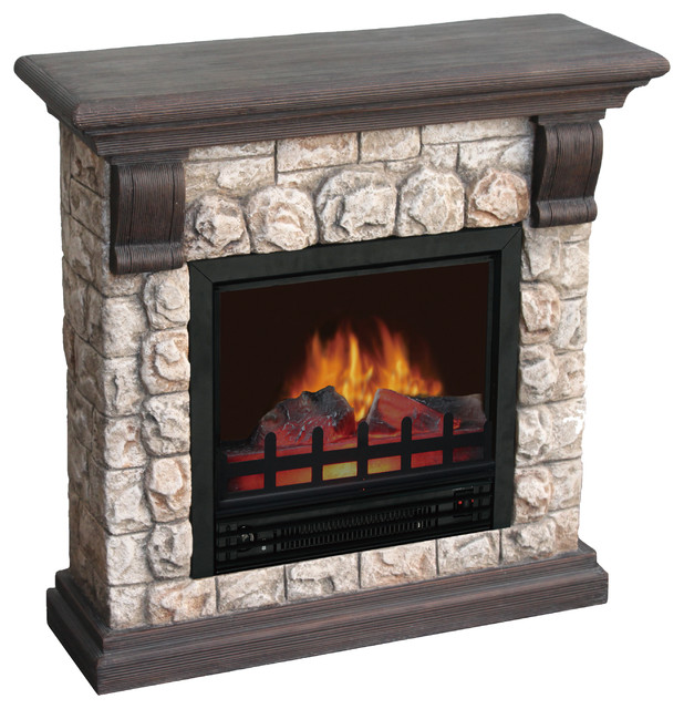 dublin polystone electric fireplace modern indoor