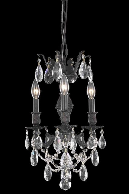 elegant lighting 8503d13db sa chandelier from the marseille collection contemporary. Black Bedroom Furniture Sets. Home Design Ideas