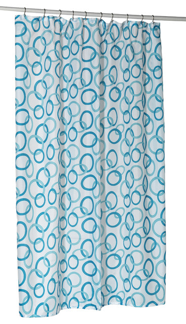 ... Extra Long Polyester Shower Curtain Liner contemporary-shower-curtains