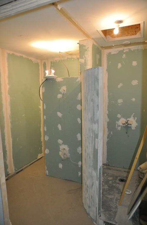 R novation d 39 une salle de bains bouguenais - Renovation salle de bain ...