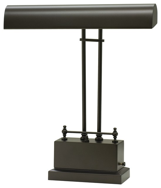 troy battery operated led piano desk lamp transitional desk lamps. Black Bedroom Furniture Sets. Home Design Ideas