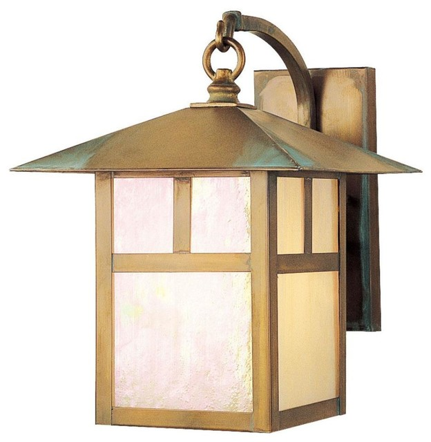 mission one light outdoor wall sconce traditional outdoor lighting
