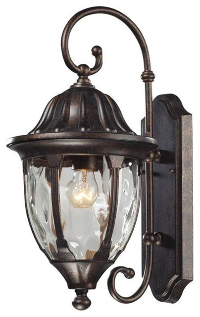 Traditional Outside Wall Lights : Elk Lighting-45003/1-Glendale - One Light Outdoor Wall Sconce - Traditional - Outdoor Lighting ...