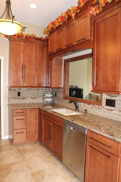 Kitchen Renovation, Brunswick, OH #2 - Waypoint Cabinets - Transitional - Kitchen Cabinetry ...