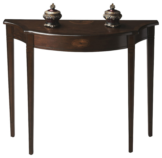 dark espresso console table 1
