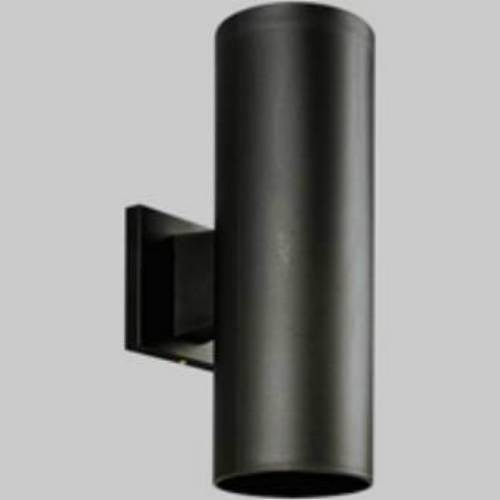 Progress Lighting P5713 31 Polymetric Cylinders 2 Light Wall Light In Black P