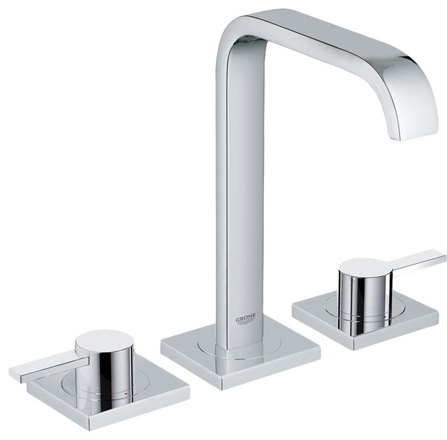 Grohe Allure Bathroom Faucet: Grohe 20191000 Chrome Allure Two Handle Widespread Lav