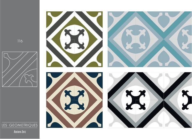 Carreaux de ciment collection les g om triques for Tarif carreaux de ciment