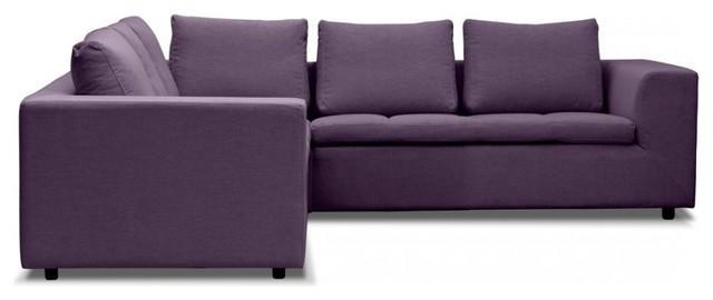 ecksofa brooklyn iv violett bauhaus look eck und modulsofas. Black Bedroom Furniture Sets. Home Design Ideas