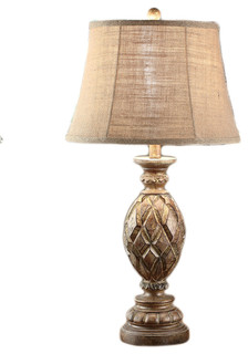 table lamp 29 inches tall traditional table lamps by zeckos. Black Bedroom Furniture Sets. Home Design Ideas