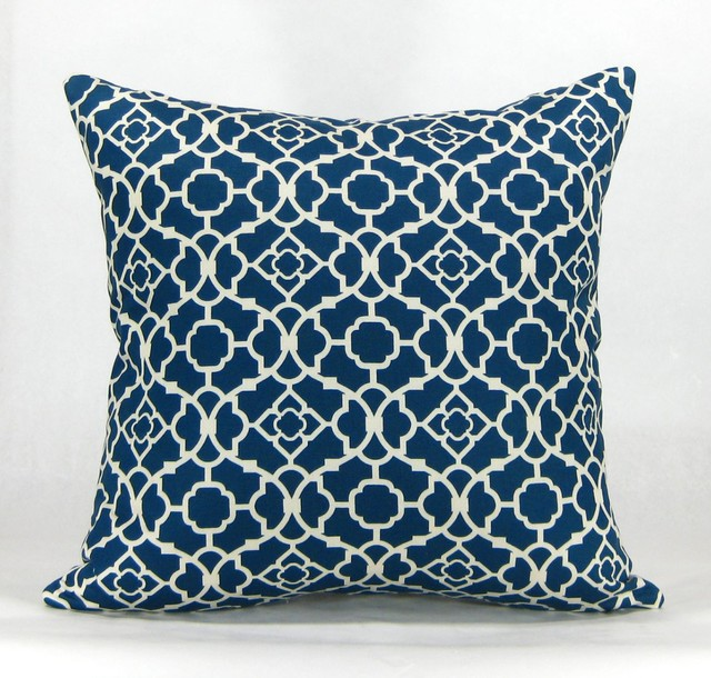 Havock Throw Pillow - Blue