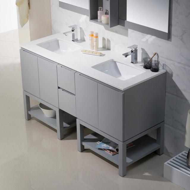 Modern Bathroom Vanities Modern Bathroom Vanity Units Sink Cabinets