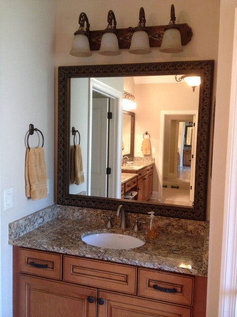 Blackwater Frame Style - Traditional - Bathroom Mirrors ...