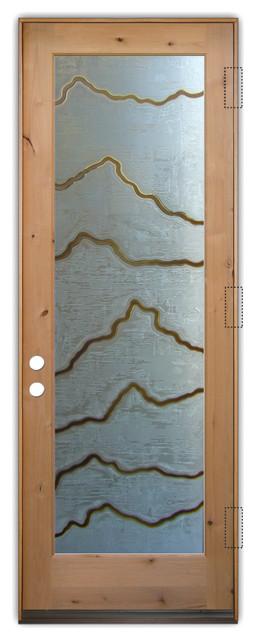 Glass Front Entry Door Sans Soucie Art Glass Serrated 3d