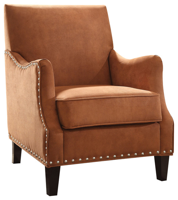 Sinai Accent Chair Orange Armchairs And Accent Chairs