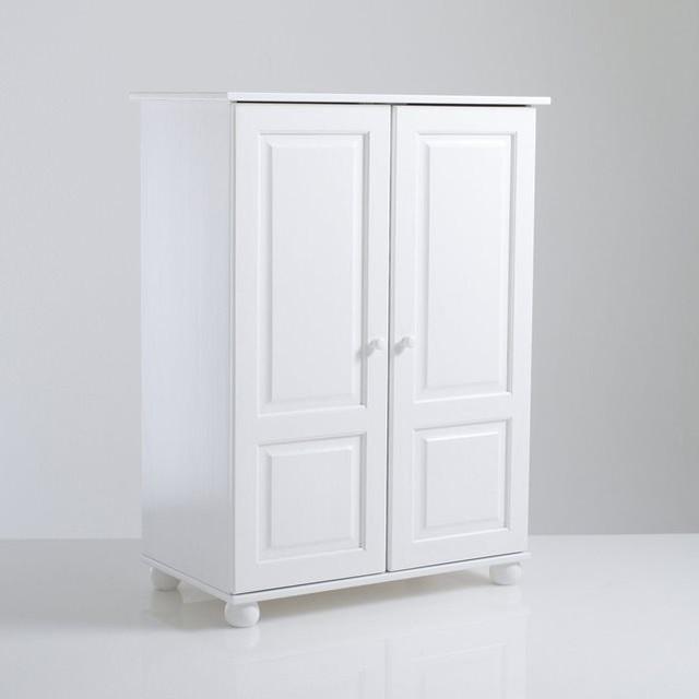 armoire pin massif h120 cm penderie redmond. Black Bedroom Furniture Sets. Home Design Ideas
