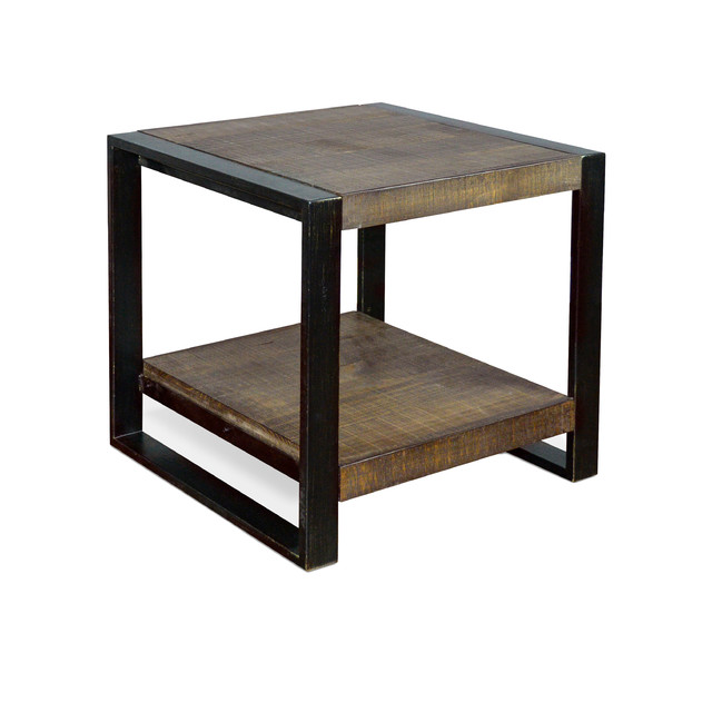 Tobacco leaf end table contemporary side tables and end tables by sunny designs inc