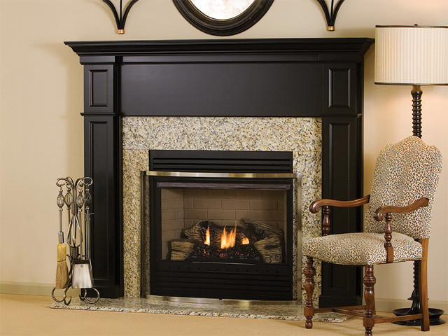 Bennington Wood Fireplace Mantel Traditional Indoor