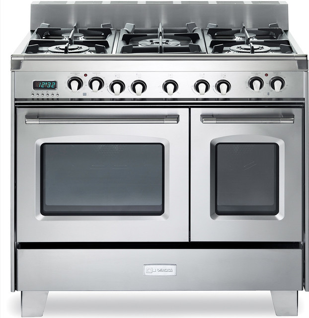 """Verona 36"""" Double Oven Dual Fuel Range - Modern - Gas Ranges And Electric Ranges - new york - by ..."""