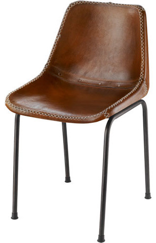 leather dining chair modern 2