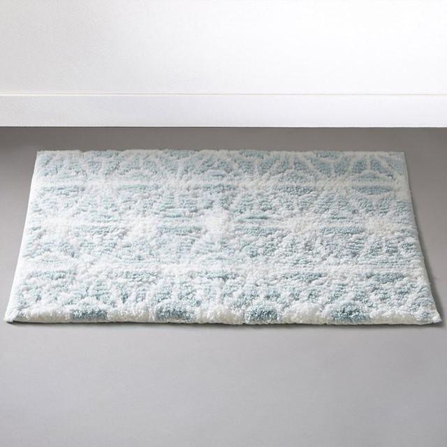 tapis de bain motif nordique 1700g m modern. Black Bedroom Furniture Sets. Home Design Ideas