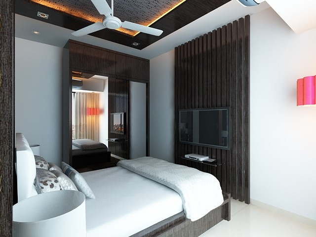 High end residential interior design project at borivali for High end interior design