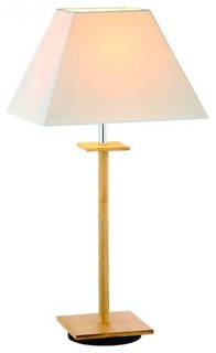 shade table lamp modern table lamps raleigh by parrotuncle. Black Bedroom Furniture Sets. Home Design Ideas
