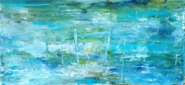 OCEAN I Contemporary Paintings Other by Highlands