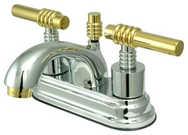 "Dyconn Faucet Edison Bathroom Mirror Reviews: Royale Two Handle 4"" Centerset Lavatory Faucet With Brass"