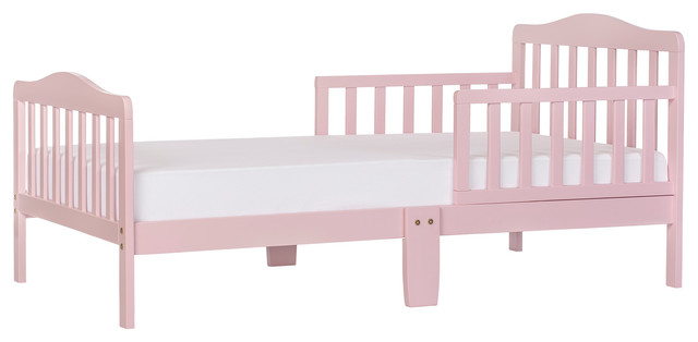 Dream On Me Classic Design Toddler Bed Pink
