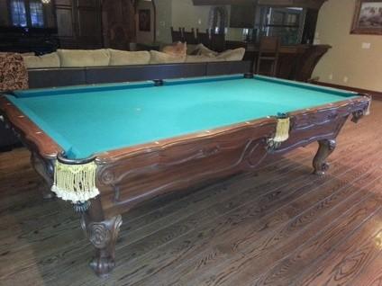 Pool Table Billiards Room