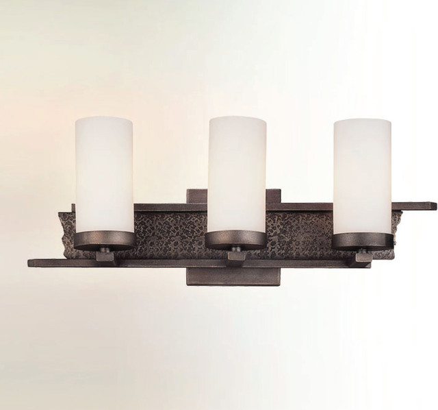 Vanity Lights Modern : Sapporo Bath Vanity - Modern - Bathroom Vanity Lighting - by Lightology