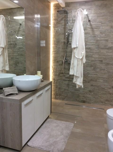 Arredo bagno   realizzazioni sala mostra   contemporary   bath ...