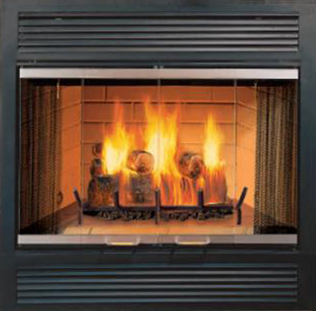 Majestic Sc36a Sovereign Wood Burning Fireplace Modern Indoor Fireplaces By Plumbersstock