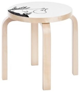 Paimio chair shop paimio chair alvar aalto products on houzz - Artek Children S Stool Ne60 Moomin Modern Kids Step