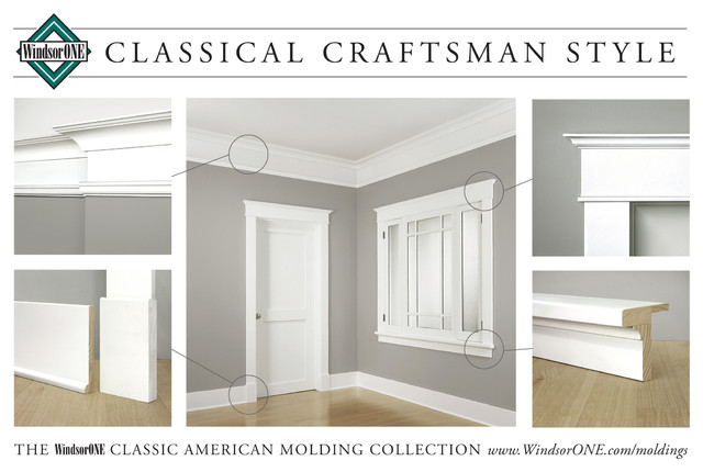 Windsorone classical craftsman moldings craftsman molding and trim