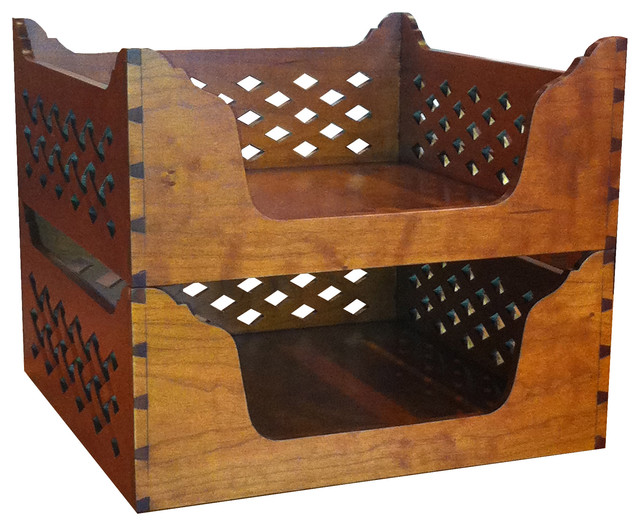 Lattice Letter Boxes - Traditional - Home Decor - other metro - by LeFort & Company, Ltd.