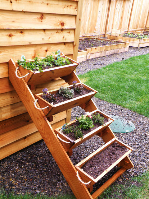 36 Inch Cedar Gardening Window Box Planter by Roped on