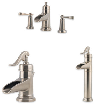 Bathroom Faucets 4 Inch Centerset : Ashfield 4-inch Centerset Trough Faucet contemporary-bathroom-faucets ...