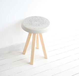 Concrete Puddle Scandinavian Folding Chairs And Stools Sydney By Milk