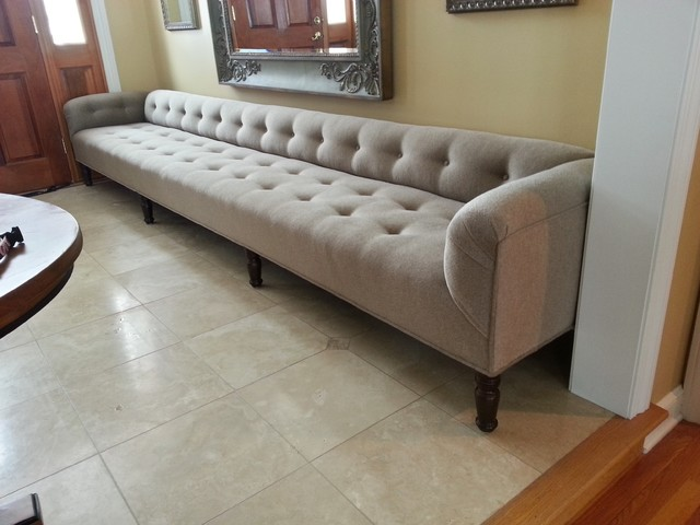 Custom 150 Quot Low Back Bench Furniture Cleveland By