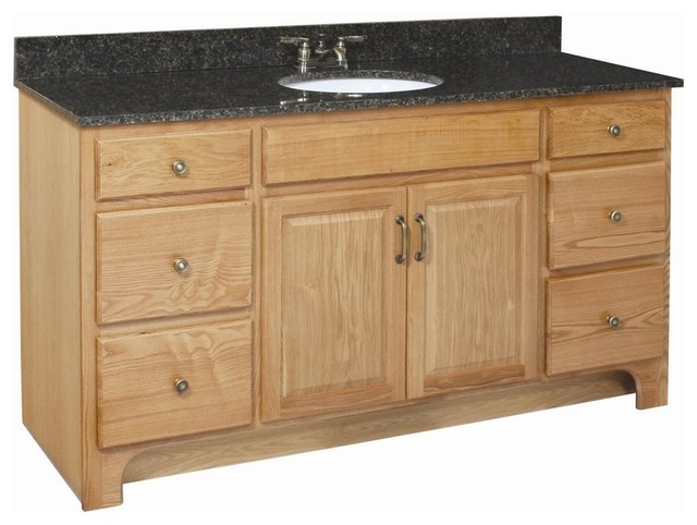 Richland 4 Drawer Vanity Farmhouse Bathroom Vanities And Sink Consoles