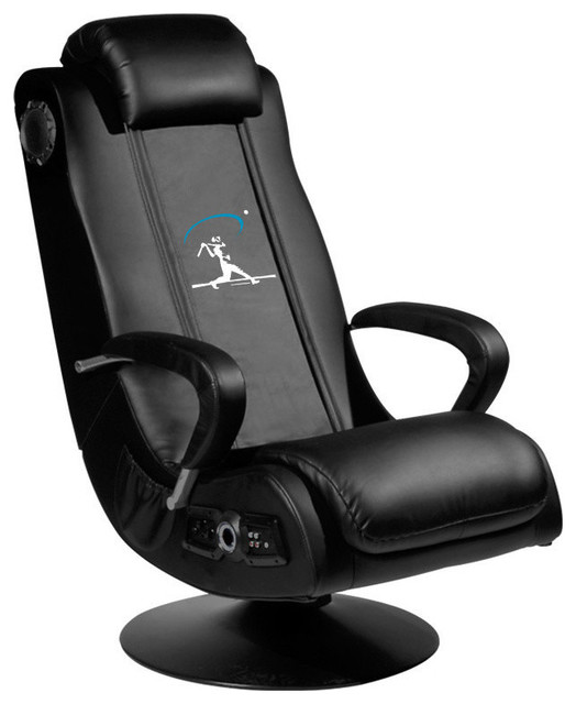 baseball home run swing video gaming rocker chair. Black Bedroom Furniture Sets. Home Design Ideas