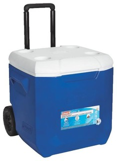 Coleman Blue Wheeled Cooler - Contemporary - Coolers And ...